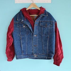 Vintage Arizona Jeans Denim Jacket 90s 80s Retro